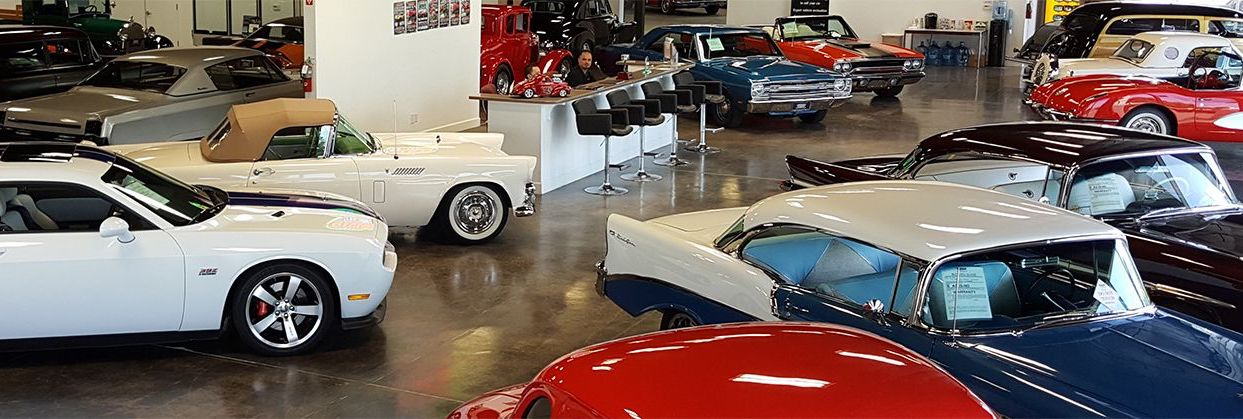 Classic Car Dealership - Specialty Sales Classics